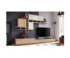 House and Garden Meuble TV complet avec rangement mural - Modène