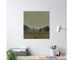 moonrise kingdom - danse de plage Poster