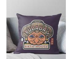 La maison de bain de Yubaba Coussin