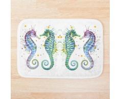 Gardiens de la mer - Hippocampe Tapis de bain