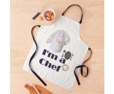 Avec mon Toque je suis Chef de cuisine Tablier
