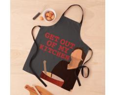 sors de ma cuisine - Harry Styles - fond gris Tablier