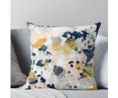 Esther - peinture minimaliste à la mode menthe or pépinière pastel décor minimaliste Coussin