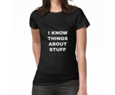 Tout savoir - Valet et femme de tous les métiers T-shirt femme
