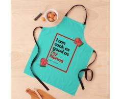 Cuisinez aussi bien que Nonna - Turquoise Tablier