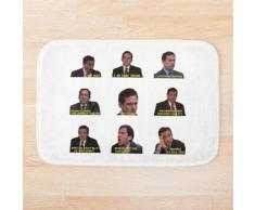 Michael Scott Citations du bureau Tapis de bain