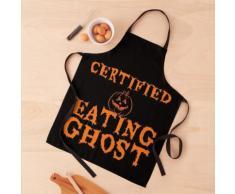 Fantôme mangeur de citrouille certifié Tablier
