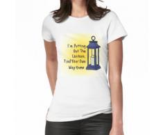 Mettre la lanterne T-shirt femme