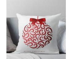 Motif décoratif de Noël Coussin