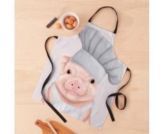 Pig Chef - joli cochon en toque Tablier
