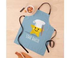 Cute Star Baker avec rouleau à pâtisserie Tablier