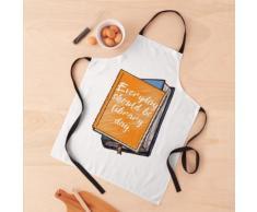 Chaque jour devrait être le jour de la bibliothèque | Blanc | Lecture de livres | Amoureux Tablier