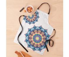 Coussin de sol Mandala Flower Tablier