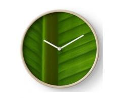 feuille de palmier Horloge murale