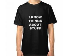 Tout savoir - Valet et femme de tous les métiers T-shirt classique