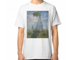 Femme avec un parasol - Claude Monet T-shirt classique