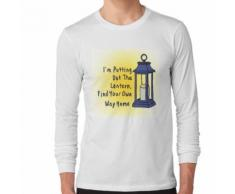 Mettre la lanterne T-shirt manches longues