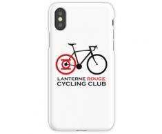 Club de cyclisme Lanterne Rouge Coque rigide pour iPhone XS