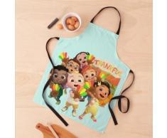 Collection de personnages CocoMelon pour chambre de bébé 2020 Tablier
