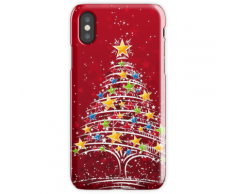 Sapin de Noël Coque rigide pour iPhone XS