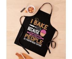 Je cuisine parce que frapper les gens est désapprouvé par Baker Tablier
