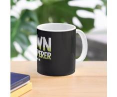 Whisperer de pelouse - tondeuse à gazon Mug