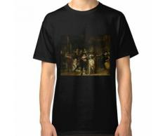 Veilleuse de nuit Rembrandt T-shirt classique