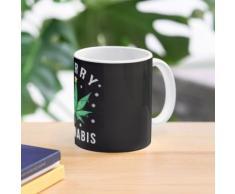 Joyeux Cannabis Marijuana Sapin de Noël Mug