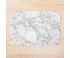 Marbre blanc Tapis de bain