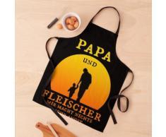 Cadeau papa et boucher pour la fête des pères anniversaire père Tablier