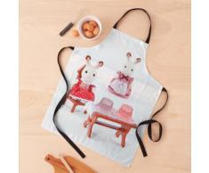Décoration pour enfants de conception de cadeaux pour bébé et fille avec des lapins jouet Tablier
