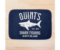 Pêche au requin de Quint - Amity Island 1975 Tapis de bain