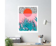 Whoa - Palm Sunrise Southwest California Palm Beach Sun City Los Angeles Hawaï Palm Springs Poster