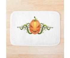 Décoration citrouille pour Halloween Tapis de bain
