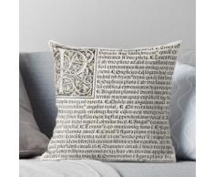 Euclid décoratif imprimé initial - Bibliothèque d'État Victoria Coussin