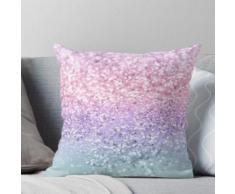 Licorne Filles Glitter # 1 #shiny #pastel #decor #art Coussin