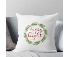 Guirlande de Noël-Merry et lumineux Coussin