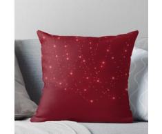 Design rouge décoratif Coussin