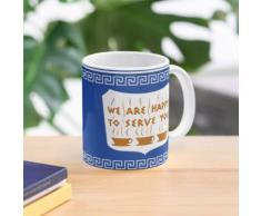 Conception de tasse à café d'anthora grecque de NYC Mug