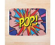 Pop Art Tapis de bain