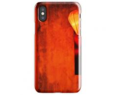 Hoi An Mur Rouge et Lanterne Coque rigide pour iPhone XS