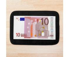 EURO. 10. Euro note, billet de dix euros. Tapis de bain