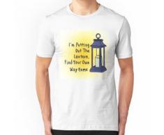 Mettre la lanterne T-shirt ajusté