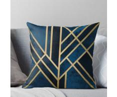 Art Deco Midnight Coussin