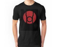 Affiche de lanterne rouge v.2 T-shirt ajusté