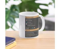 Tasse de café et de thé (recette) Mug