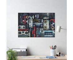 Mur de caisson de flèche des années 80 Poster