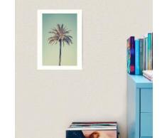 Retro palmier Impression art