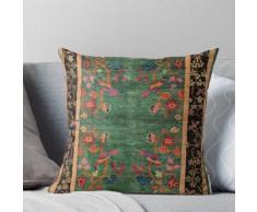 Impression de tapis chinois Art déco vintage Coussin