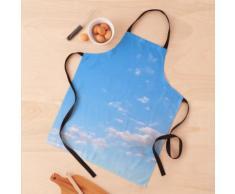 Ciel bleu nuageux Tablier